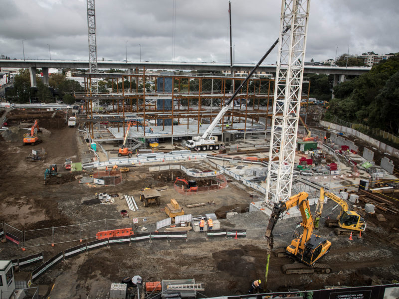 Scentre Group redevelopment of Westfield Mall, Newmarket, Auckland. 15 May 2018 New Zealand Herald Photograph by Michael Craig.